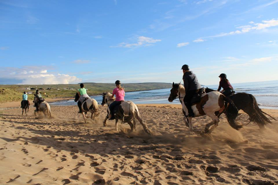 beach rides in clare