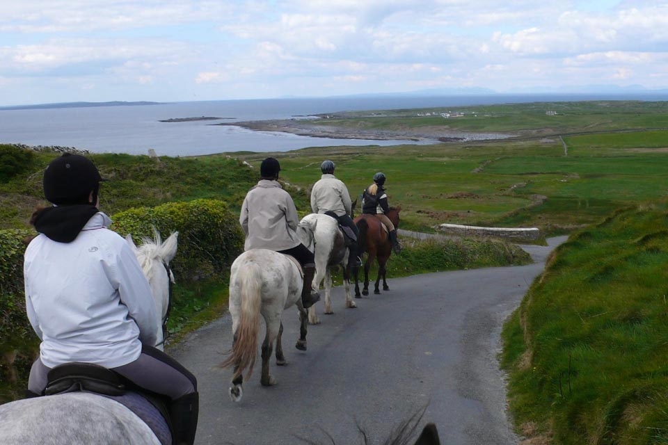 trail rides in the Burren