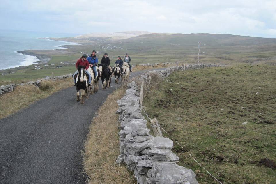 trekking in the burren